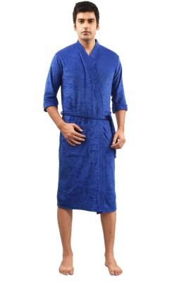 FeelBlue Royal Blue Large Bath Robe