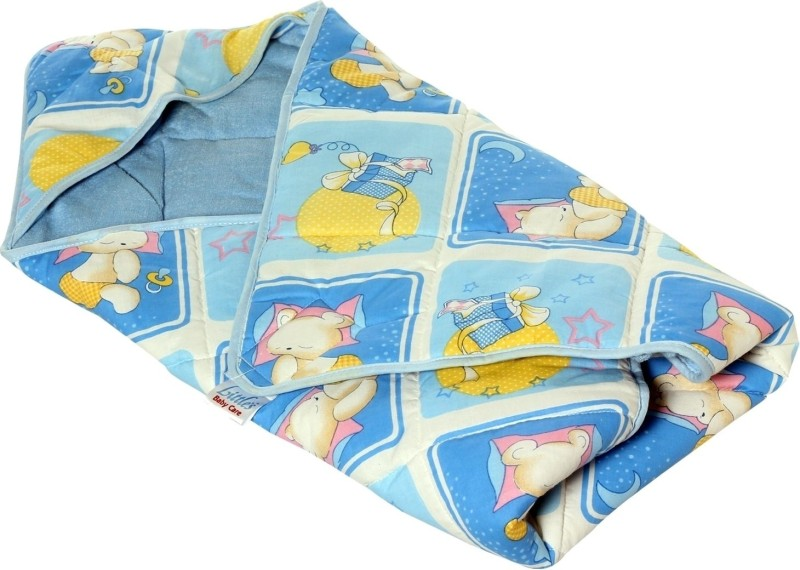 Little's Blue Bath Robe(For: Baby Boys & Baby Girls, Blue)