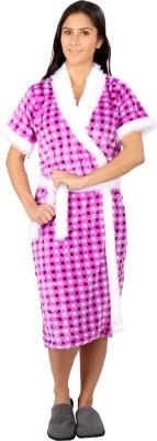 Vixenwrap Purple Free Size Bath Robe