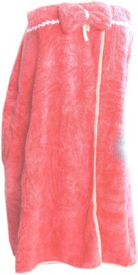 Muren Red Free Size Bath Robe