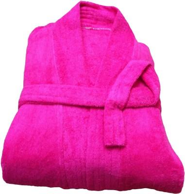 CKT Pink Free Size Bath Robe