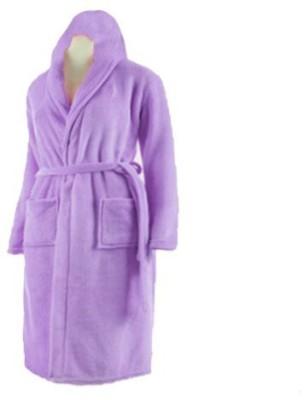 Loomkart Violet Large Bath Robe