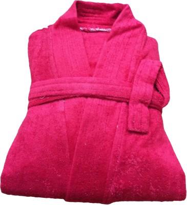 CKT Red Free Size Bath Robe