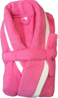 CKT Pink Large Bath Robe(1 Bathrobe, For: Baby Boys & Baby Girls, Pink)