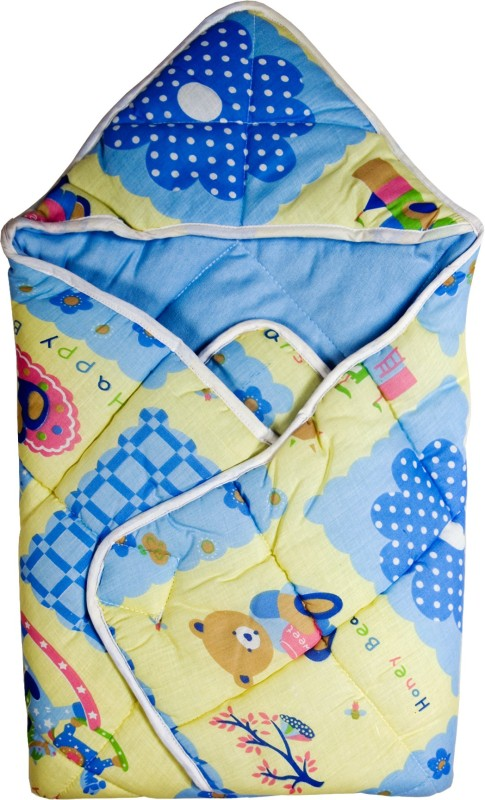 Love Baby Blue Medium Bath Robe(1, For: Baby Boys & Baby Girls, Blue)