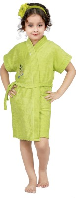 Superior Light Green Small Bath Robe