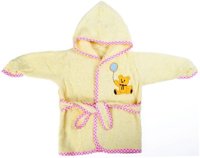 Baby Oodles Yellow XS Bath Robe