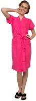 Vixenwrap Pink Free Size Bath Robe(1 Bathrobe, For: Women, Pink)