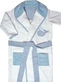 Absobent Cotton Blue Bath Robe (1 Bath R...