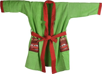 Sassoon Disney Green Small Bath Robe