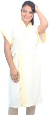 Romano Yellow Free Size Bath Robe