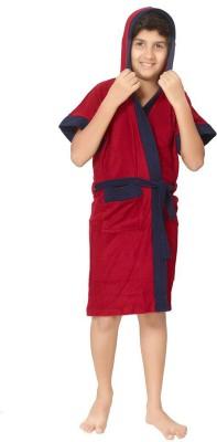 Sand Dune Red Free Size Bath Robe