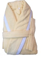 CKT Yellow Large Bath Robe(1 Bathrobe, For: Baby Boys & Baby Girls, Yellow)