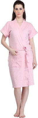 Mark Home Pink Medium Bath Robe