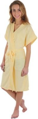 Sree Lakshmi,s Yellow XL Bath Robe