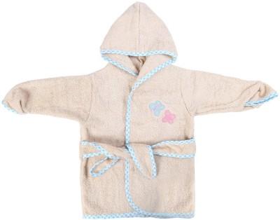 Baby Oodles Beige XS Bath Robe