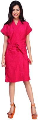 Carrel Pink XL Bath Robe