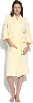 Sand Dune Yellow XL Bath Robe