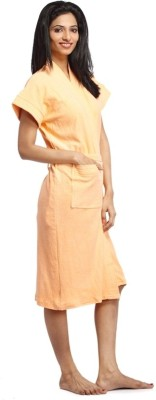 Superior Peach Free Size Bath Robe