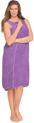 Icable Purple Large Bath Robe
