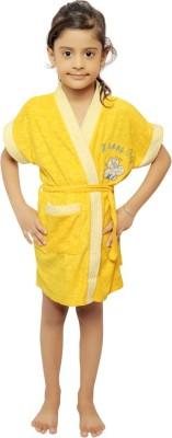 VeenaDdesigner Yellow Large Bath Robe