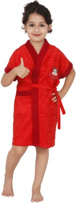 Superior Red Bath Robe