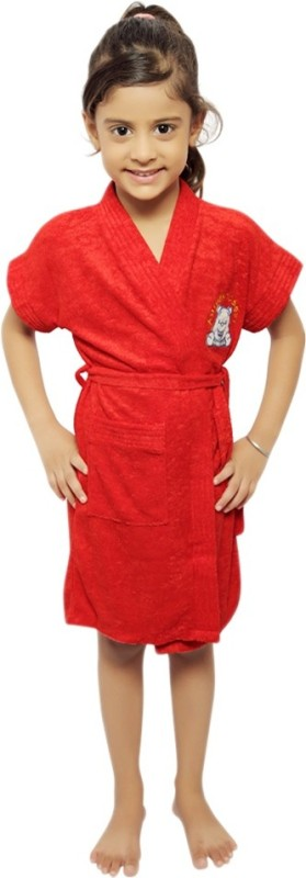 Superior Red XL Bath Robe(Kids Bath Robe, For: Baby Boys & Baby Girls, Red)
