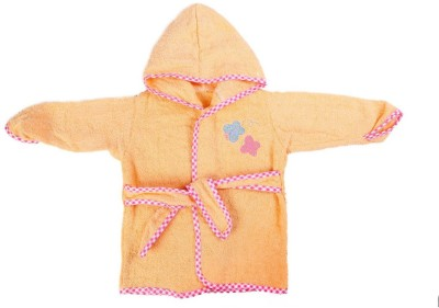 Baby Oodles Peach XS Bath Robe