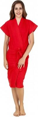 CrazyLiner Red Free Size Bath Robe