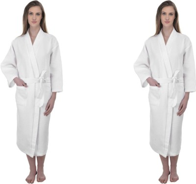 Mark Home White Large Bath Robe