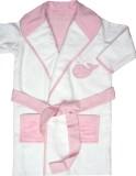 Absobent Cotton Pink Bath Robe (1 Bath R...