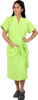 Vixenwrap Lime Green Free Size Bath Robe(1 Bath Robe, 1 Belt, For: Women, Lime Green)