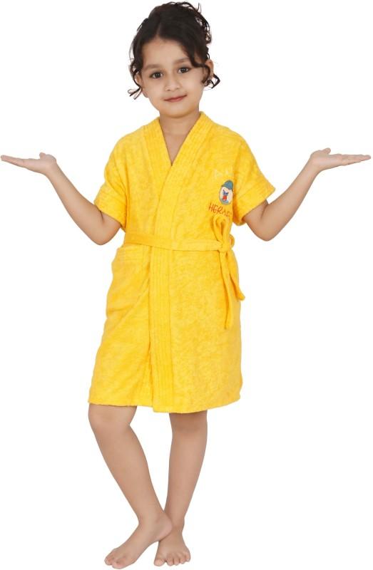 Superior Gold Small Bath Robe(Bath Robe, For: Boys, Gold)