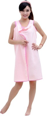 Everything Imported Pink Free Size Bath Robe(1 Bath Robe, For: Women, Pink)