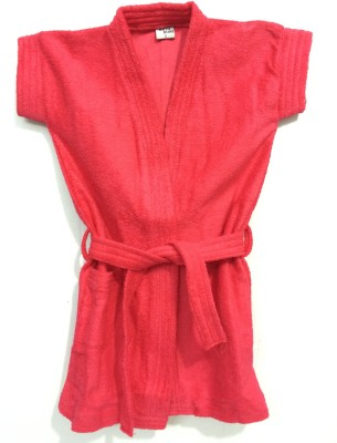 Spicy Style Red Large Bath Robe