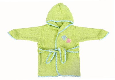 Baby Oodles Green XS Bath Robe