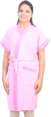 Romano Pink Free Size Bath Robe