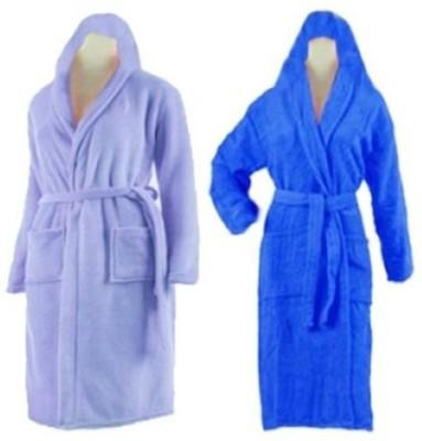 Loomkart Multicolor Large Bath Robe