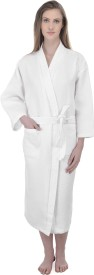 Mark Home White Large Bath Robe