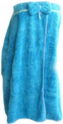 Muren Blue Free Size Bath Robe