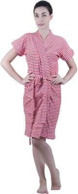 Vixenwrap Red Free Size Bath Robe