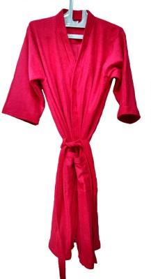 Bagira Red Medium Bath Robe