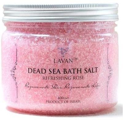 Lavan Dead Sea Bath Salt - Refreshing Rose