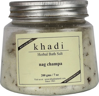 khadi Natural Herbal Bath Salt - Nag Champa