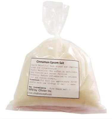 Fontura Cinnamon Epsom Salt