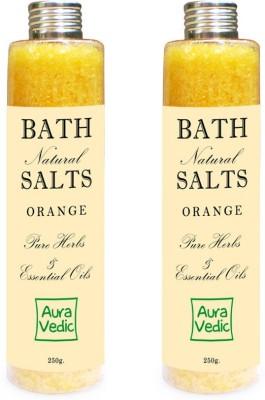 Auravedic Orange Bath Salts
