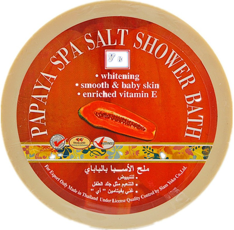 Yoko Papaya Spa Salt Shower Bath (Made In Thailand)(250 g)