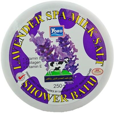 Yoko Lavender Spa Milk Salt Shower Bath (Made In Thailand)