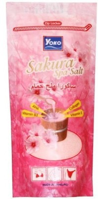 Yoko Sakura Spa Salt With AHA, Collagen & Vitamin E, B3