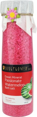 Soulflower Passionate Watermelon Ocean Mineral Bath Salt